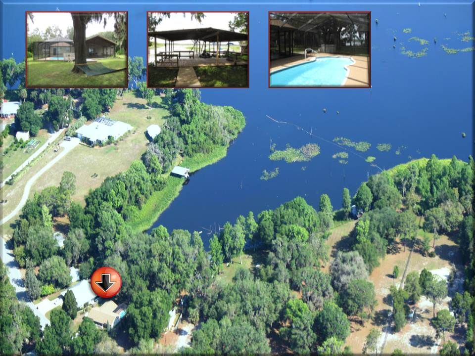 Paradise found lakefront home heated pool dock - Florida condo swimming pool rules ...