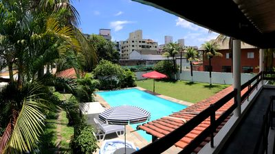 Photo for House in Guarujá (Enseada Beach) with 5 Suites, Swimming Pool and Large Outdoor Area.