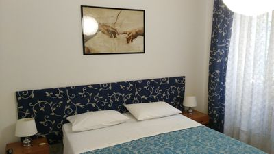 Photo for SAINT PETER'S AREA - VATICAN - ROME CITY CENTER - AC, WIFI  flat - 2 rooms - 2/5 persons