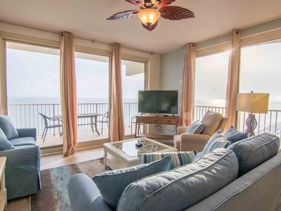 Photo for Amazing View! Updated 2 Bedroom with Wrap-Around Balcony - Shores of Panama 1829