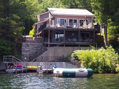 Photo for Lake Winnipesaukee Waterfront Sun and Ski Retreat, Alton Bay
