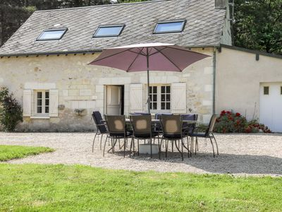 Photo for Loire Valley Country House with large private garden and access to castle pool