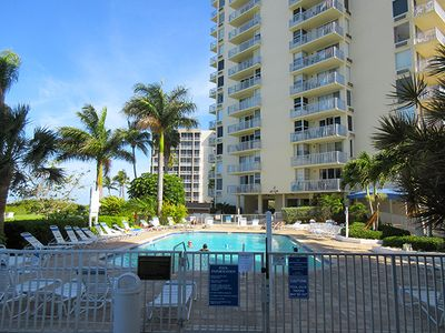 Photo for Best Bargain Vacation On The Beach!  Estero Beach & Tennis Club Right On Gulf!