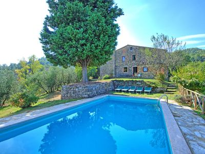 Photo for Villa in Palazzone with private pool, 6 bedrooms sleeps 11