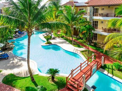 Photo for Whitesands Punta Cana 2BD Free Shuttle to the Beach