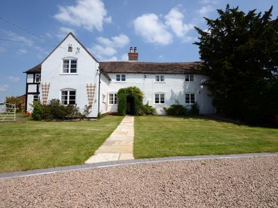 Photo for HISTORIC GRADE 2 LISTED FARMHOUSE SLEEPS 12 PLUS BARN CONVERSION FOR 6 MORE (18)