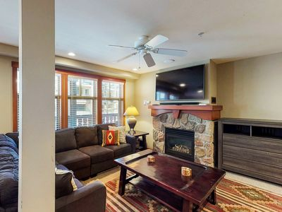 Photo for Cozy ski-in/out condo w/ Club Solitude access - shared hot tub, pool & more!