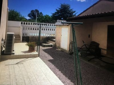 Photo for comfortable villa with pool 300 m from the sandy beach
