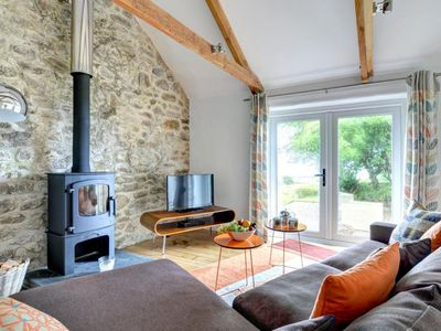Photo for Cosy, modern cottage with a magnificent view of the rural surroundings