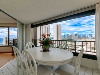Photo for MONTHLY Discovery Bay 2204 2 Bedroom Ocean / Sunset / Marina  Views 2 King Beds, Qn Sofa Bed