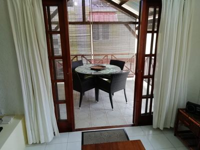 Photo for Comfortable 3 Bedroom apartment with balcony, pool and 4 min walk to the beach