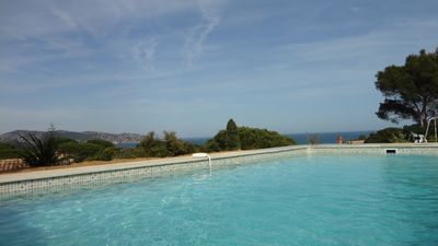 Photo for panoramic sea view - swimming pool - quality villa - close to famous beaches