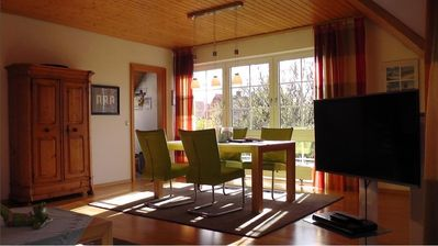 "Photo for Apartment ""Großer Vogelsand"" with sunny south-facing balcony!"
