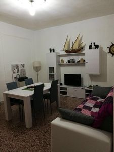 Photo for Comfortable apartment on the first floor in the center of Carloforte.