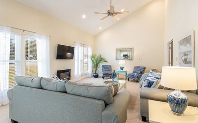 Photo for Beautiful, Spacious, Ground level, Beach & Sound Access, Professionally Decorate