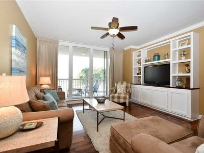 Photo for Beachfront Condo. Includes FREE Poolside Cabana and Beach Chair Service!