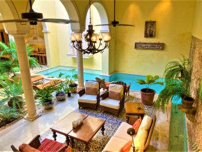 Photo for VILLA ROMANTICA. A TRUE COLONIAL MASTERPIECE.  NEAR TO RESTAURANTS AND MUSEUMS