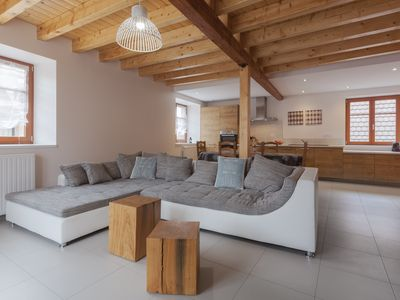 Photo for DUPLEX Denis quiet, large TERRACE, 2SDB, 2 toilets, in the vingeron 6km COLMAR