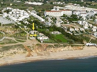 Aerial view - location relating to sea