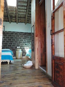 Photo for Comfortable and warm bedroom in an old house 30 min. from Toluca, for vacation
