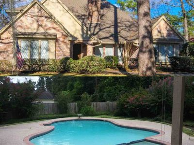 Photo for Beautiful home, private pool, 15 min IAH, work or play