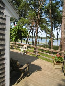 View of Drummer Cove From Deck