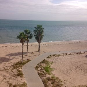 two mile boardwalk runs in front of property from the jetties to the Lexington