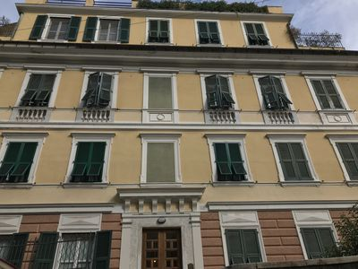 Photo for SAN VINCENZO APARTMENT -Genoa center with parking