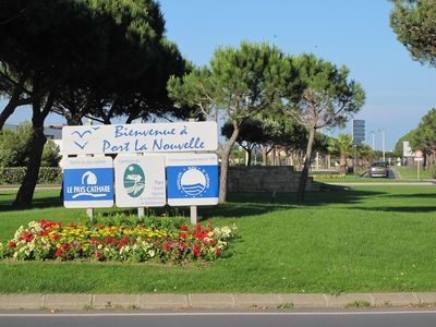 Photo for Villa in peace and seafront. Pkg shopping privé.Centre 100m, 150m beach