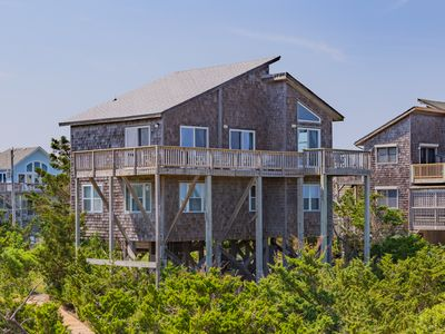 Photo for Beach House - Solid 4 Bedroom Oceanfront Home in Avon