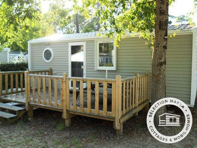 Photo for Camping Club Les Viviers **** - Maeva Camping - Mobil Home Belisaire 3 Rooms 4/6 People