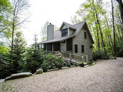 Photo for Custom Built Mountain Home on 4 Acres - 5 Miles from Old Edwards Inn