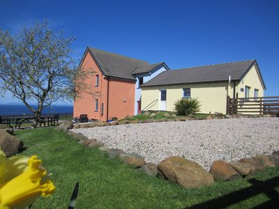 Photo for Luxury Holiday Villa. Magnificent Sea & Mountain Views. Near Uig, Isle of Skye.