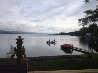 Photo for Year-Round Lakefront Home Situated on the Best Keuka Location.