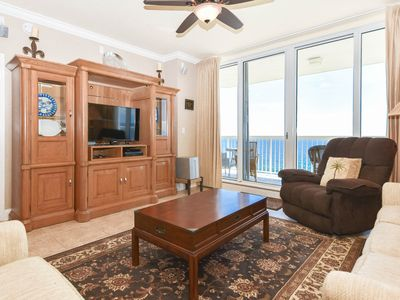 Photo for Beachfront Condo with Views from Both Bedrooms! Free Beach Chair Service!😎