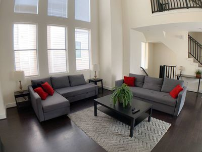 Photo for Stylish Townhome near Dwtn/Med Center (1) -6 Beds