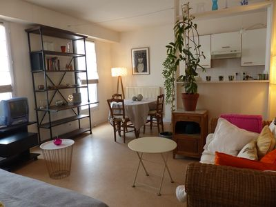 Photo for Quiet and bright apartment downtown La Rochelle