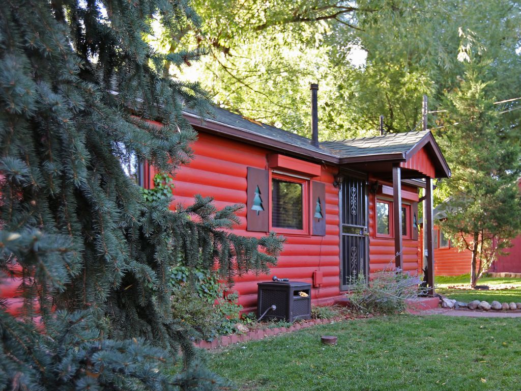 Pike Nursery Near Me: Private CREEKSIDE CABIN! ♥ Near Garden Of The Gods And