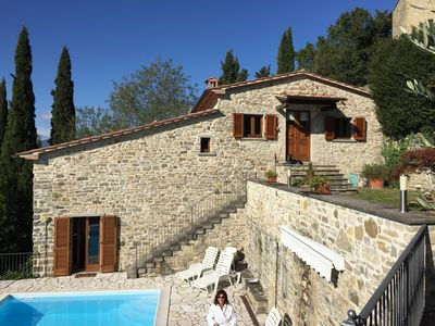 Photo for Il Castelletto - Fabulous Rustic House wi. Pool