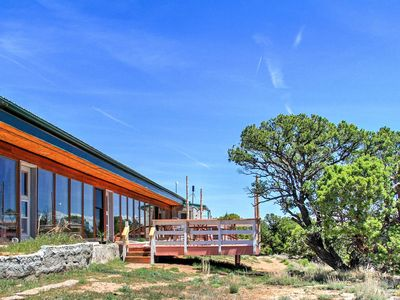 Photo for 'Earth Ship' Cliffside Glade Park Home on 35 Acres