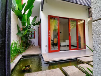 Photo for Sanur Private room 109 with terrace and kitchen