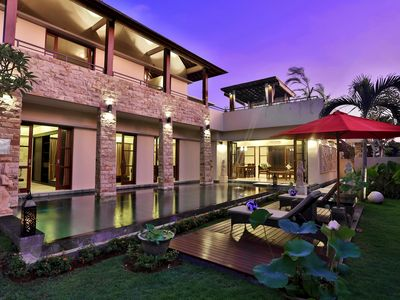Photo for Hideaway Private 3 Bedroom Villa Close to Beach, Canggu;