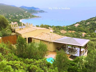 Villa Favorita and sea views
