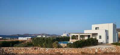 Photo for Parasporos Paradise Villa, quiet luxury villa, private pool, walk to beach