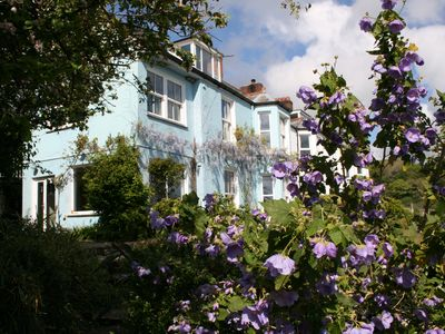 Photo for Beautiful 6 bedroom Victorian house with stunning views over the River Fowey
