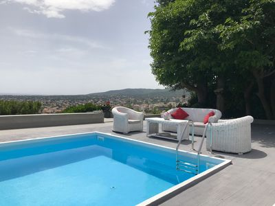 Photo for Liberty Luxury Villa-Private Pool- Panoramic View- In just 40 min. from Airport
