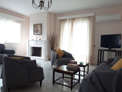 Photo for Sea view,big and comfortable appartment in Voula