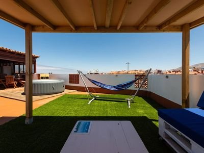 Photo for St. George's House Gran Canaria - For 6, Hot Tub, Rooftop Terrace, Fast WiFi,