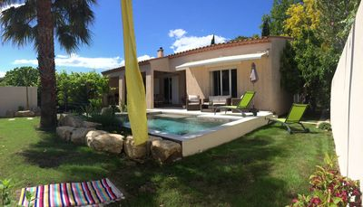 Photo for Villa with private swimming pool Lattes center