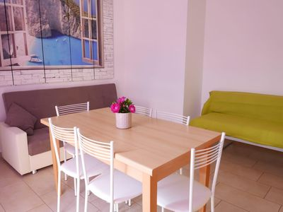 Photo for Boschetto two-room flat with air conditioning a few steps away from the beach